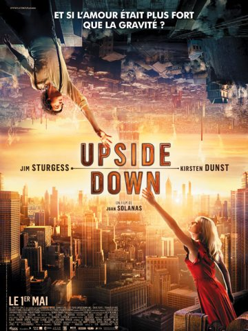 Upside Down - affiche Jim Sturgess, Kirsten Dunst