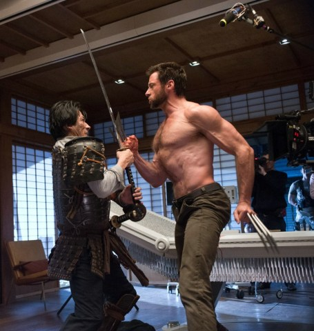 Wolverine - le combat de l'immortel - Photo Hiroyuki Sanada, Hugh Jackman