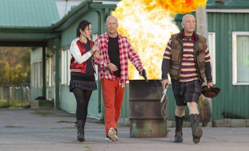 Red 2 - Photo Bruce Willis, John Malkovich, Mary-Louise Parker