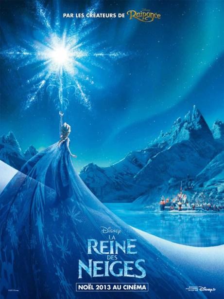La Reine des neiges - Affiche- Anna