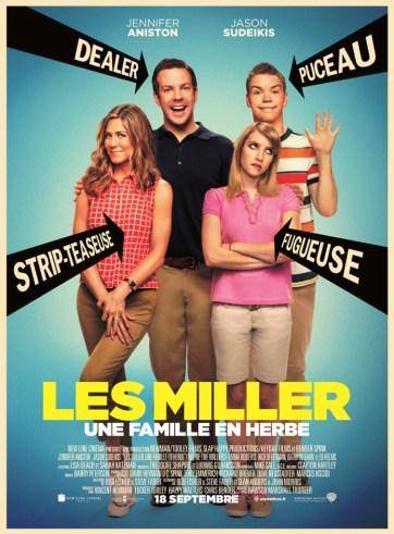 Les Miller, une famille en herbe - Affich