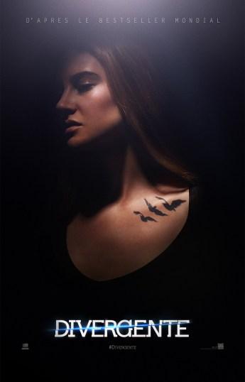 Divergente - Affiche- Femme