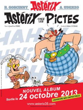 asterix chez les pictes couverture 35eme album