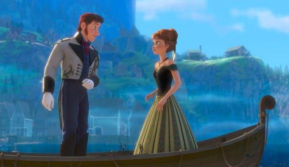 La Reine des neiges - Photo Anna et son Prince