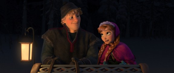 """""""FROZEN"""" (L-R) KRISTOFF and ANNA. ©2013 Disney. All Rights Reserved."""