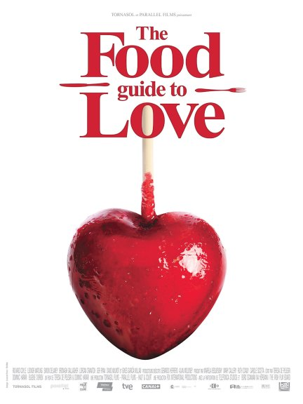 The Food Guide to Love - Affiche