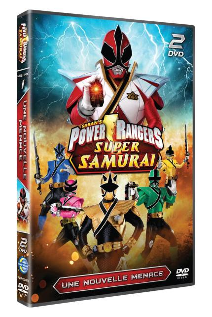 Les Powers rangers Super Samurai- Une nouvelle menace DVD