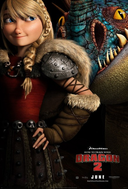 Dragons 2 - Affiche Astrid
