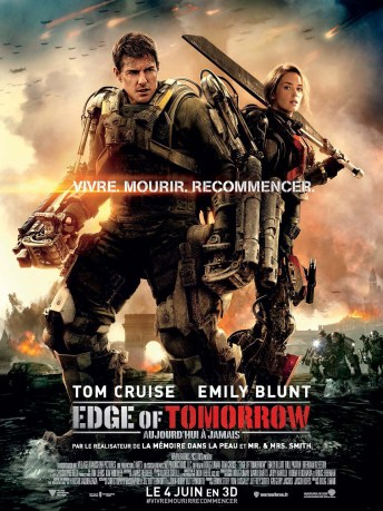 Edge Of Tomorrow - Affiche - Doug Liman-Tom-Cruise-Emily-Blunt