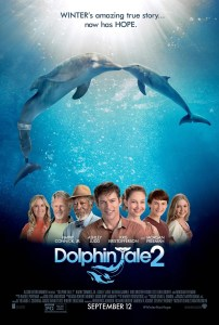 L'Incroyable Histoire de Winter le dauphin 2 Dolphin Tale 2 Affiche VO