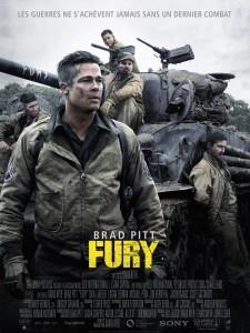 Affiche Fury Brad Pitt VF