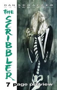 The Scribbler Dan Schaffer Cover preview