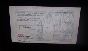 Immersion Layout Dessins Studios Ghibli style photomaton
