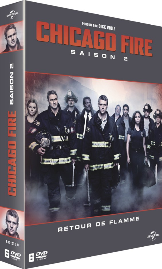 DVD Chicago Fire S2