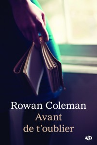 Avant de t oublier Rowan Coleman