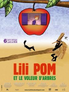 Lili Pom et le voleur d'arbres - Affiche