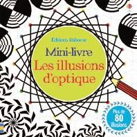 Mini-livre les illusions d'optique editions usborne