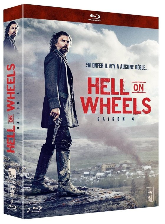 Hell on Wheels Saison 4 Blu-ray