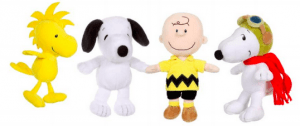 Assortiments peluche Snoopy et les Peanuts Gipsy 2015