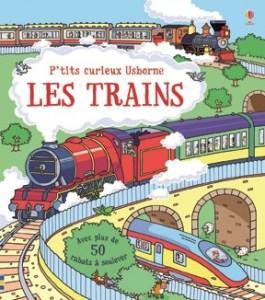 P'tits curieux Les trains Usborne
