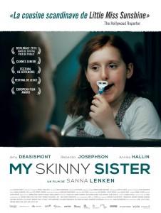 My skinny sister-Affiche