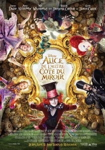 Alice de l'autre cote du miroir - Affiche