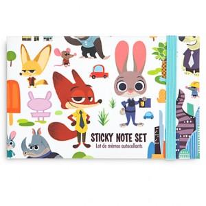 Sticky Note Set Zootopie