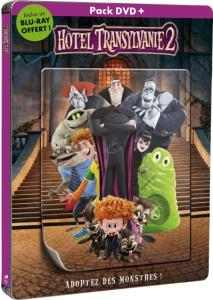 Pack DVD Hotel Transylvanie 2