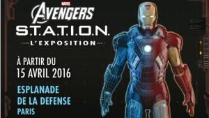 Avengers Exposition 15 avril 2016