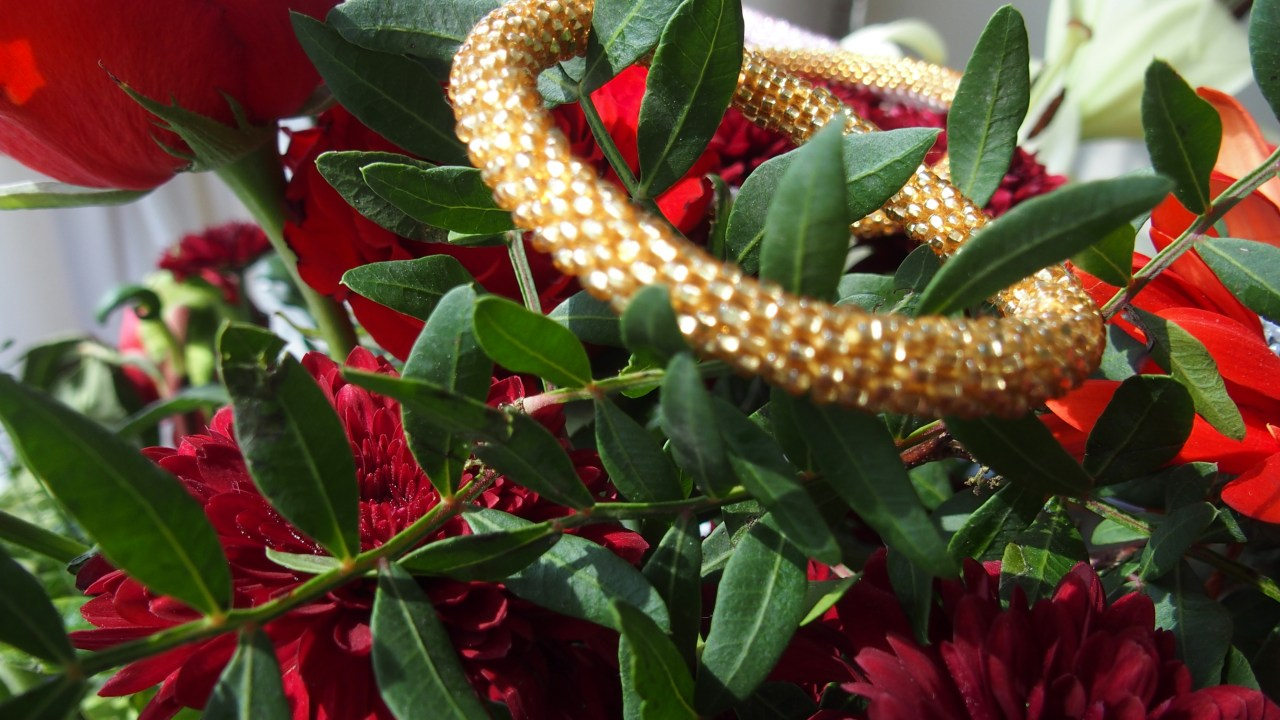 Roses and Sashka Bracelet. Sashka Bracelets. New Labels Only