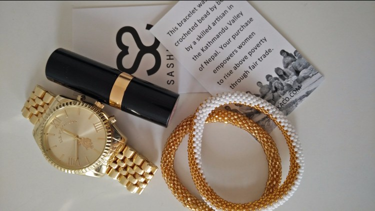 Golden time with Sashka Bracelet. Sashka Bracelets. New Labels Only