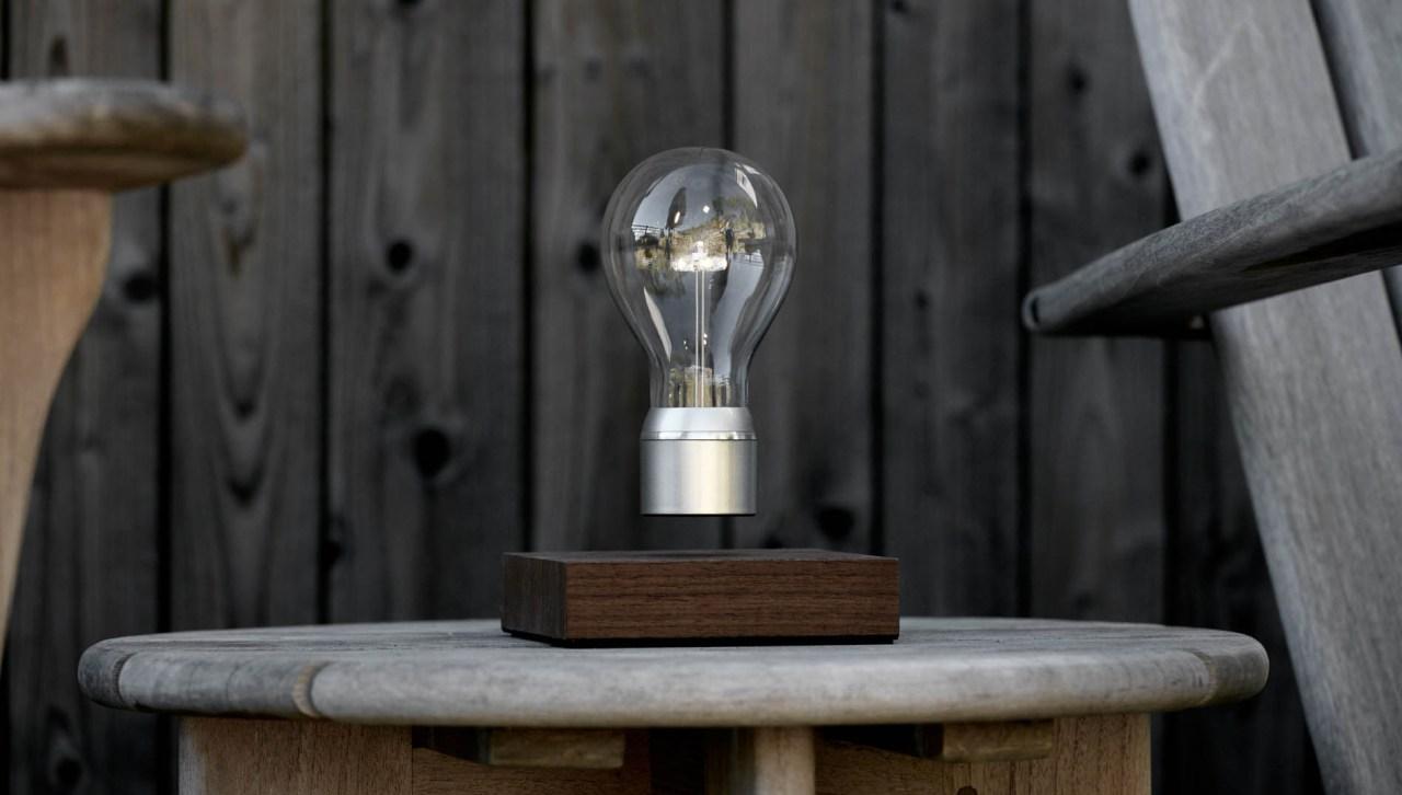 Flye. New Labels Only. Levitating Lightbulb