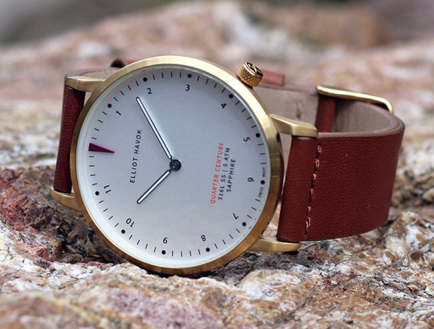 Elliot Havok Watches Chronos. Watches. Minimalistic, San Francisco. Elliot Havok Watch review. Elliot Havok review. watches Quarter of the Century