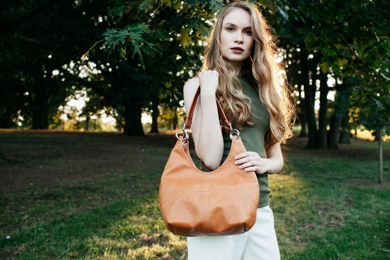 Victoria Sling Dolyn Bags in Acorn