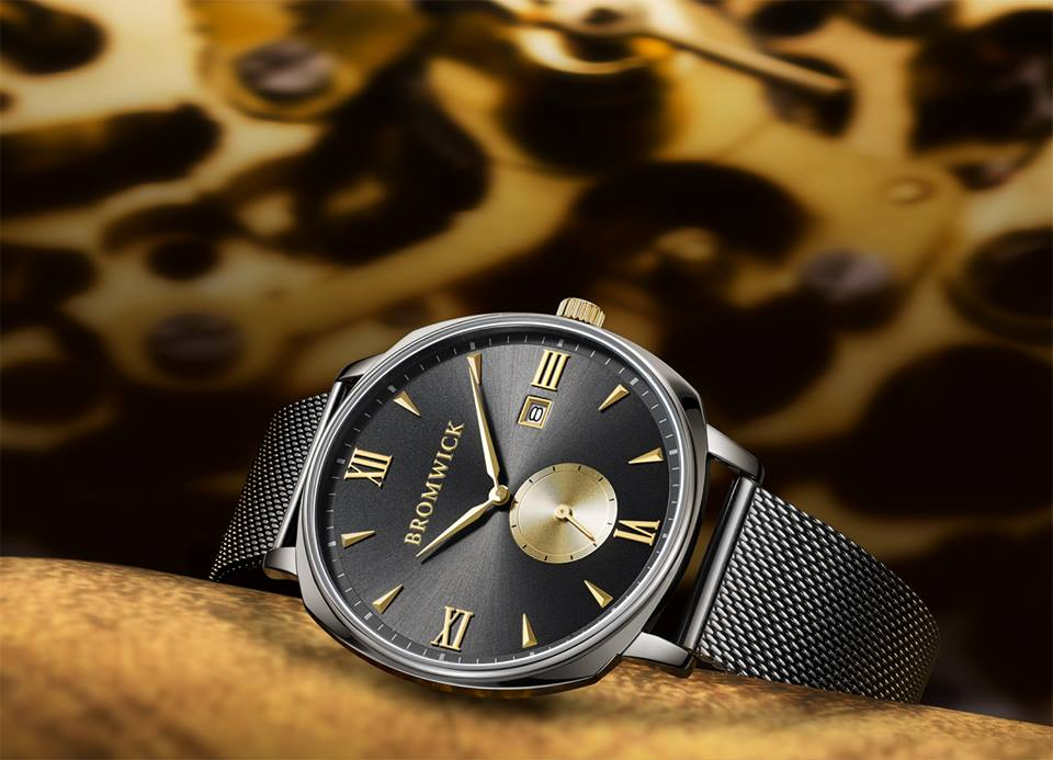 Bromwick Watches Crown Series. Perfect Valentine's day gift for him