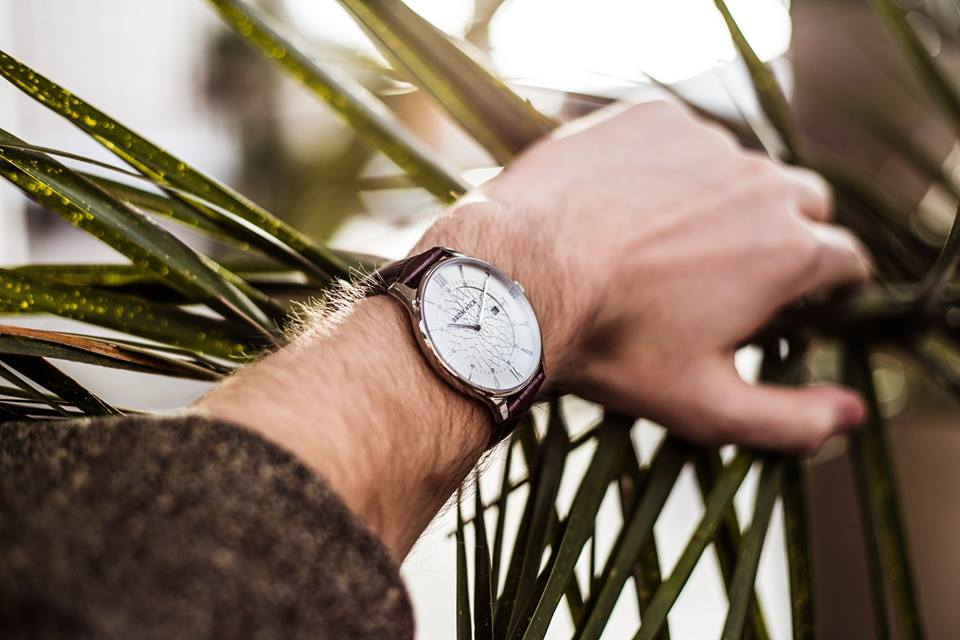 Bromwick Watches Tower series brown. Valentine's day gift for him