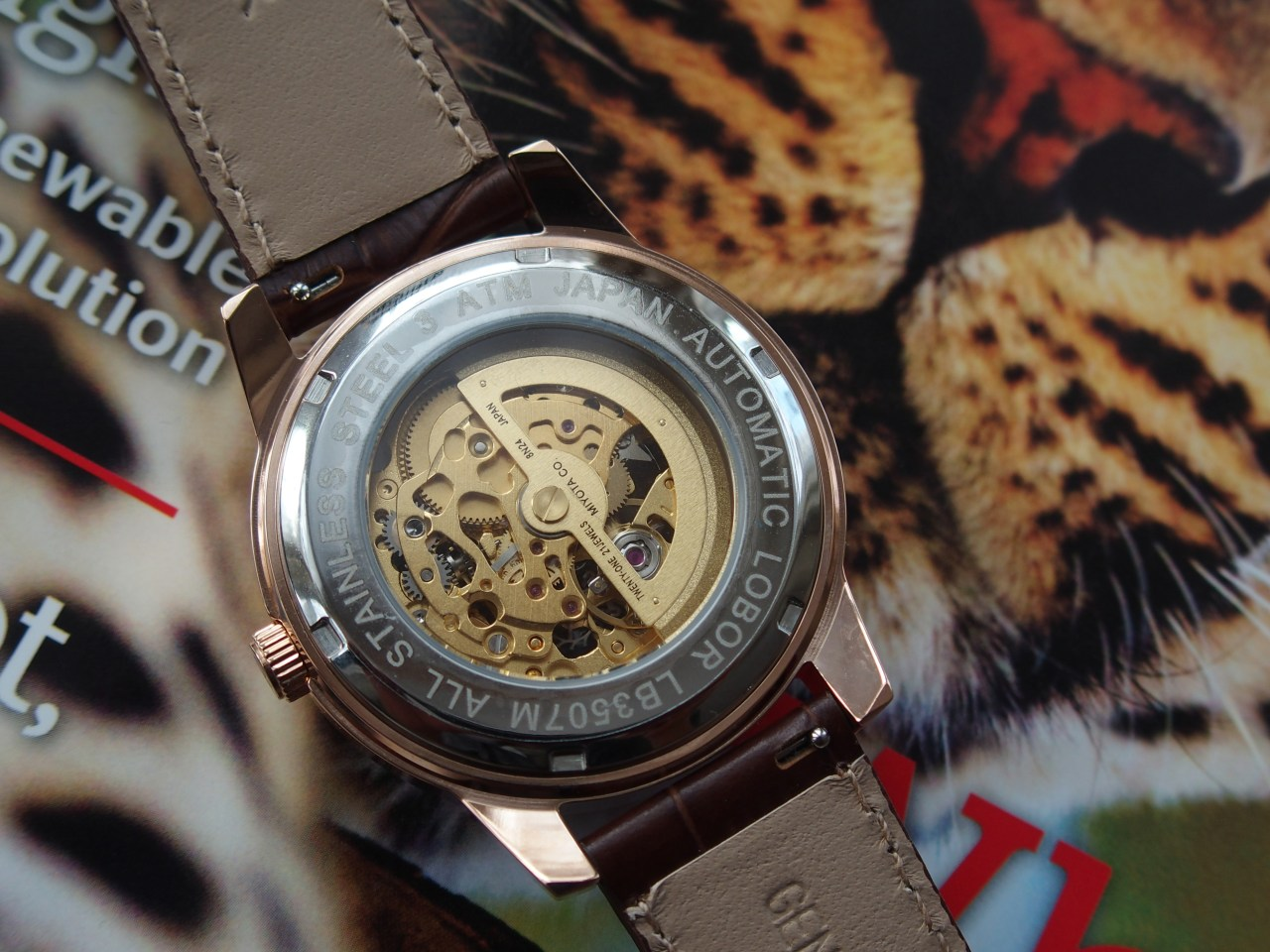 Lobor Automatic Skeleton Watch Charlemagne Dynasty