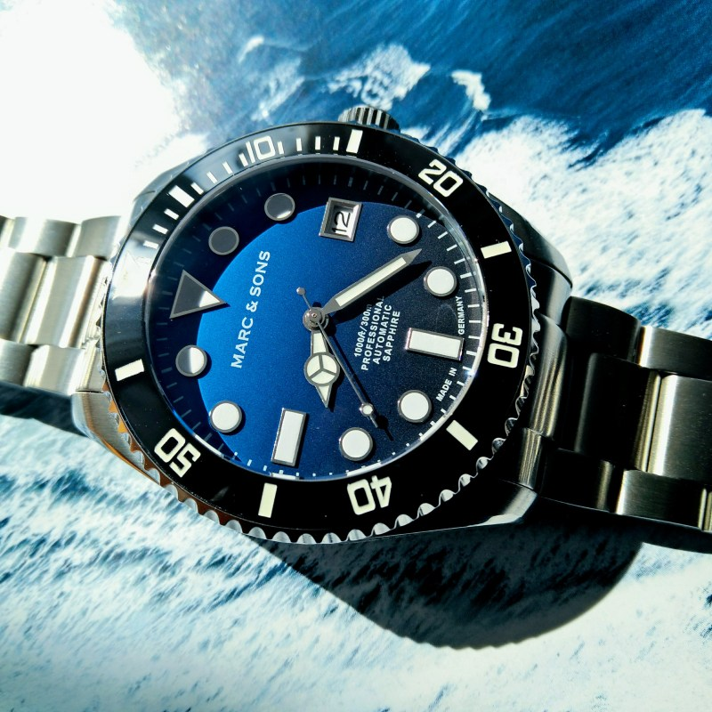 MARC & SONS Diver Watch MSD-045-7S