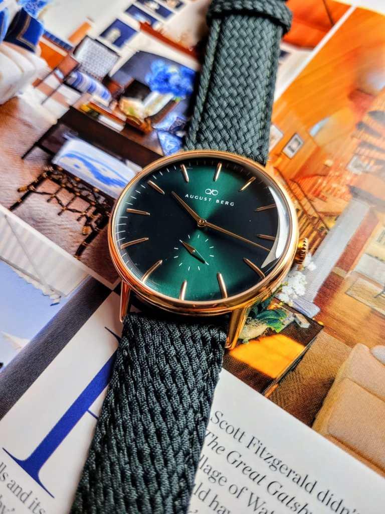 August Berg Watch Green Dial
