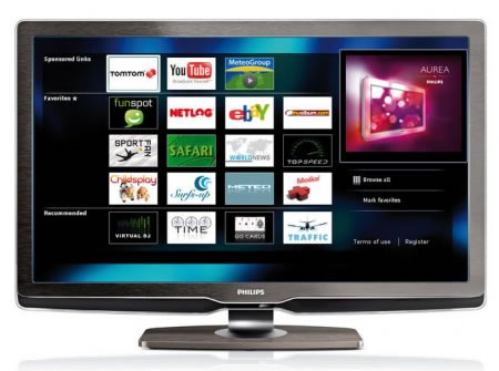 web tv televisão internet