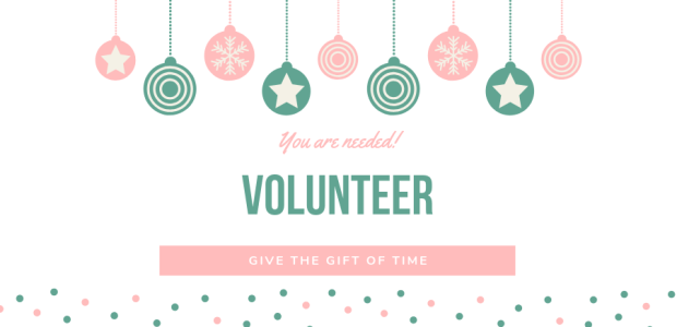 If you are looking for a way to touch lives with the hope of Jesus Christ, consider volunteering.