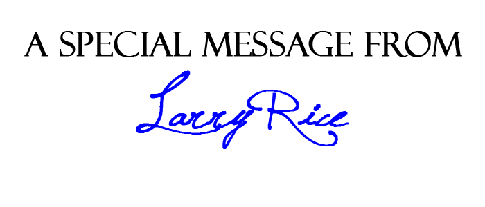 A Message from Larry Rice - February 2017