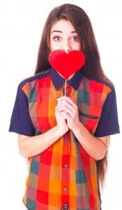Heart-lollipop