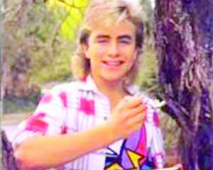 Mark as a teenager on Neighbours