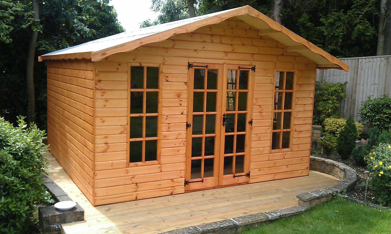 Hideaway Summer House New Line Sheds Reading Berkshire