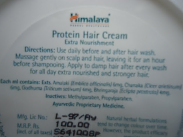 Himalaya Protein Hair Cream Review