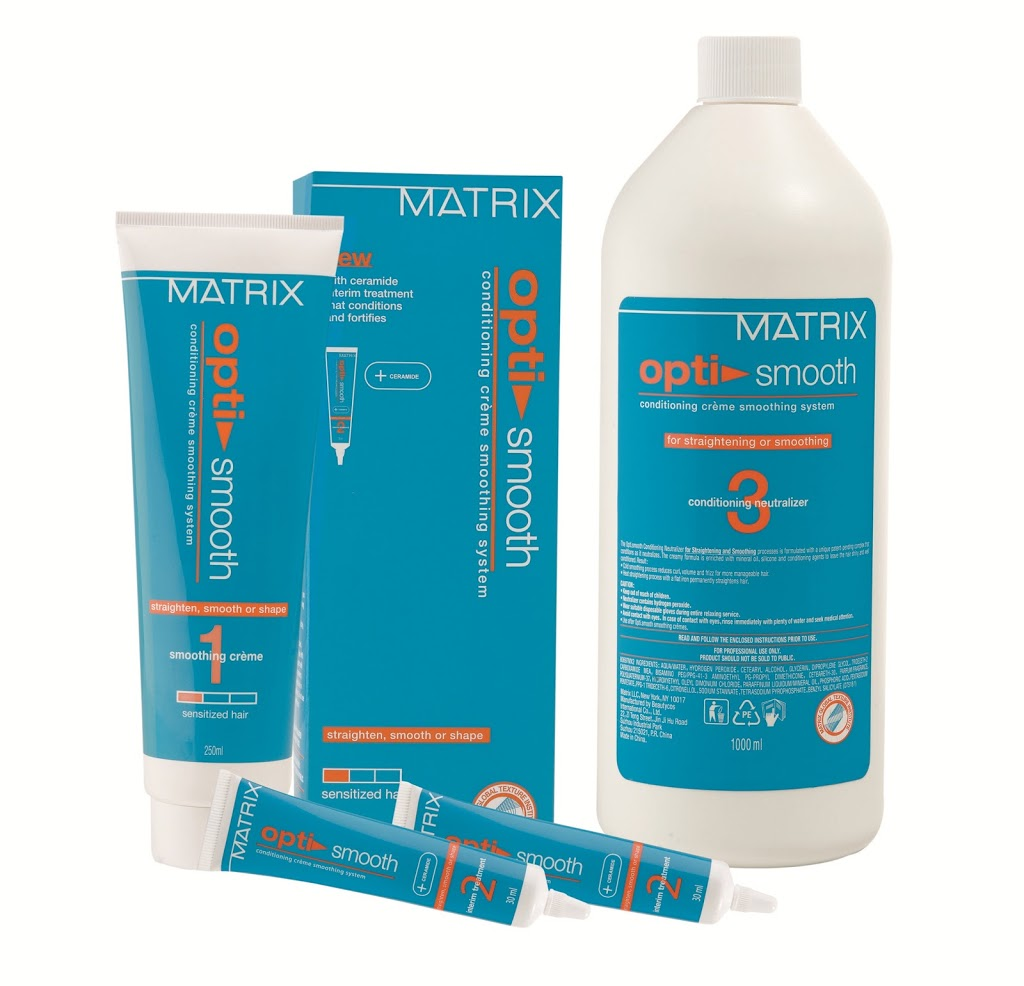 Matrix Presents The Smooth Rebond Service With Optismooth! New Love Makeup  Matrix Presents The Smooth
