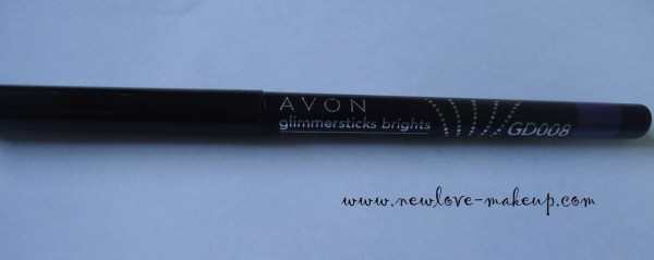 Avon Glimmersticks Ultra Brights Eyeliner GD008 Purple Punch Review, Swatches, EOTD