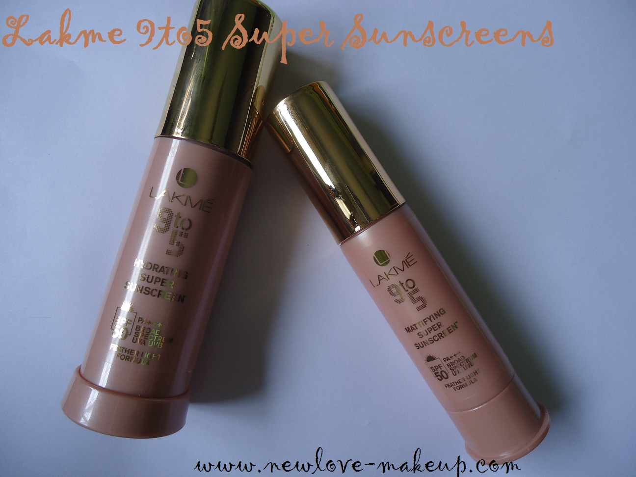 Lakme 9 to 5 Super Sunscreens SPF50-Hydrating and Mattifying Review
