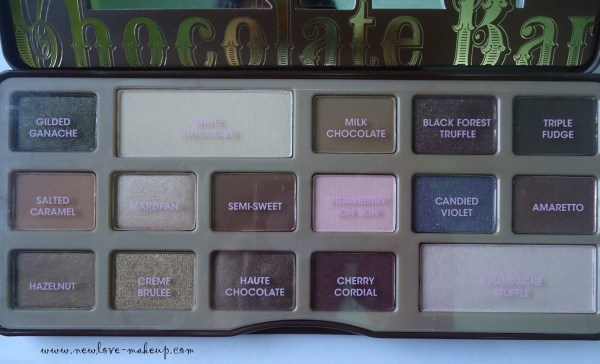 Too Faced Chocolate Bar Eyeshadow Collection Review and Swatches, Indian Makeup and Beauty Blog